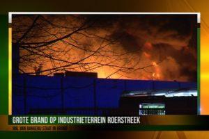 Industriële bakkerij Mission Foods in Roermond brandt af