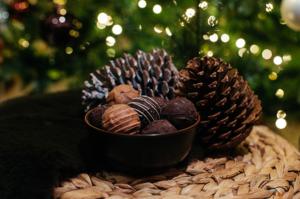 Chocolade assortiment Van Delft